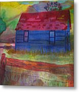 The Old Farmhouse Metal Print