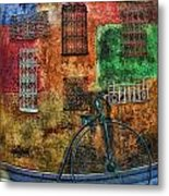 The Old Fashion Bike Metal Print