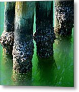 The Old Fishing Pier Metal Print