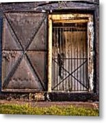 The Old Fort Gate-color Metal Print