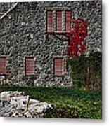 The Old Fort Bristol Rhode Island Metal Print