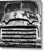 The Old Gmc Truck Metal Print