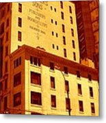 The Old Good Days In Manhattan Metal Print