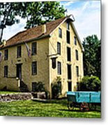 The Old Grist Mill  Paoli Pa. Metal Print