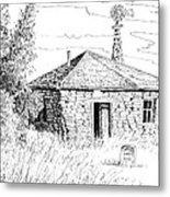 The Old Homestead Metal Print