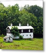 The Old Horse Barn Metal Print