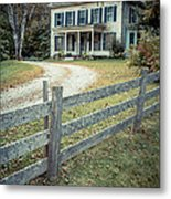 The Old House On The Hill  Metal Print