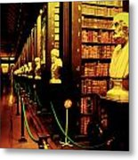 The Old Library Trinity College Dublin Ireland Metal Print