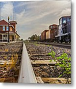 The Old Line Metal Print