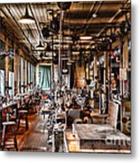The Old Machine Shop Metal Print