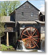 The Old Mill In Pigeon Forge Metal Print by Roger Potts