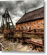 The Old Mine Metal Print by Adrian Evans