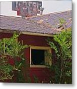 The Old Motel Metal Print