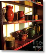 The Old Pantry Metal Print by Olivier Le Queinec