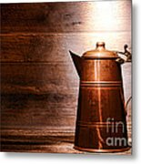 The Old Pitcher Metal Print