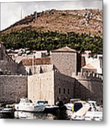 The Old Port Under The Ramparts Metal Print