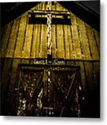 The Old Rugged Cross Metal Print