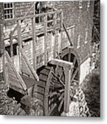 The Old Saw Mill Metal Print