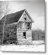 The Old Shack Metal Print by Gary Heller