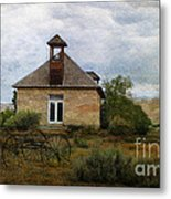 The Old Shell Schoolhouse Metal Print