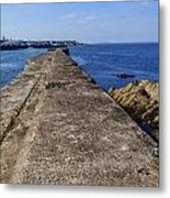 The Old Shipyard Pier Metal Print