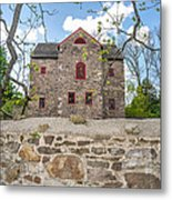 The Old Sone Barn At The Highlands Metal Print