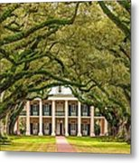 The Old South Version 2 Metal Print