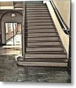 The Old Stairs Metal Print