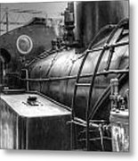 The Old Steam Train Metal Print