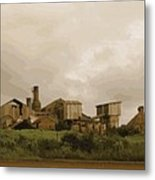 The Old Sugar Mill At Koloa Metal Print