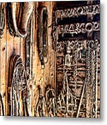 The Old Tack Room Metal Print by Olivier Le Queinec