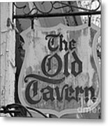 The Old Tavern Metal Print