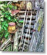 The Old Tool Shed Metal Print by Lanita Williams