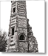 The Old Tower Metal Print