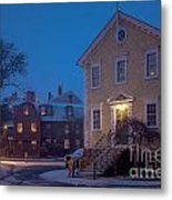 The Old Town House Metal Print