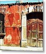The Old Walls Metal Print