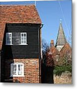 The Old Water Mill Bosham Metal Print