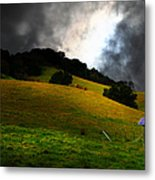 The Old Windmill - 5d21059 Metal Print by Wingsdomain Art and Photography