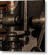 The Old Workshop Metal Print by Andrew Pacheco