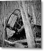 The Old Wreck Metal Print