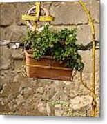 The Old Yellow Well Metal Print