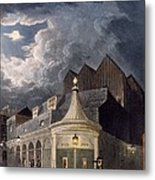 The Olympic Theatre, 1826 Metal Print