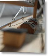 The 'on Deck' Picture Metal Print