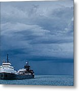 The Oncoming Storm Metal Print