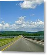 The Open Highway Metal Print