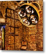 The Operating Room - Eastern State Penitentiary Metal Print