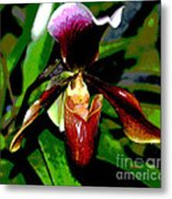 The Orchid Room Metal Print