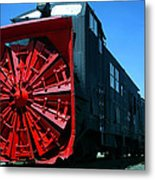 The Original Snowblower Metal Print