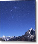 The Orion Constellation Metal Print
