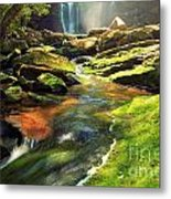 The Other Falls Metal Print